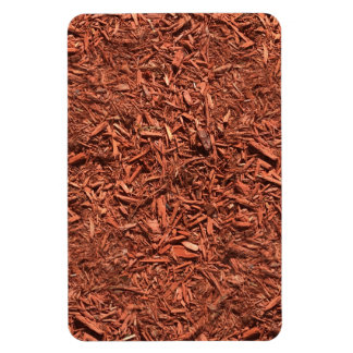 detailed mulch of red cedar for landscaper magnet
