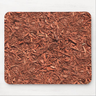 detailed mulch of red cedar for landscaper mouse pad
