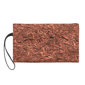 detailed mulch of red cedar for landscaper wristlet