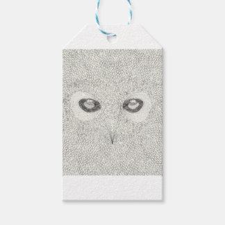 Detailed owl illustration in black and white