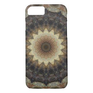 Detailed Pastel Seashells Mandala Kaleidoscope iPhone 8/7 Case