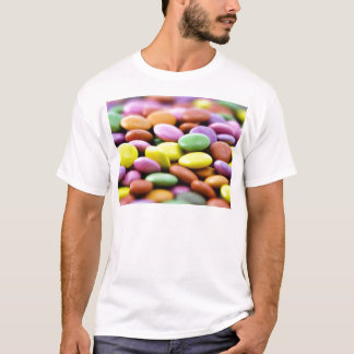 Detailed Photo Of Colorful Chocolate Bonbons T-Shirt