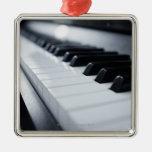 Detailed Piano Keys
