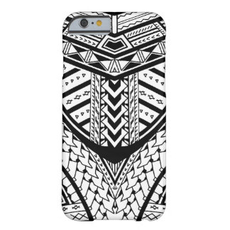 Detailed Samoan tribal tattoo pattern Barely There iPhone 6 Case