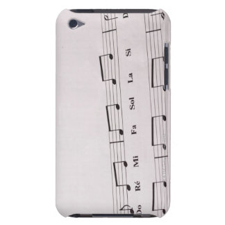 Detailed Sheet Music 2 Barely There iPod Case