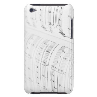 Detailed Sheet Music 3 iPod Touch Case-Mate Case