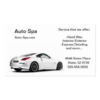 Detailing Shop Business Card Template