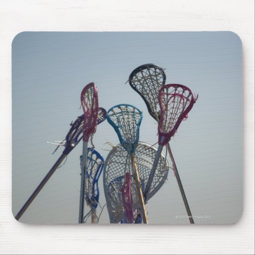 Details of Lacrosse game Mousepad