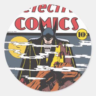 Detective Comics 31 Round Stickers