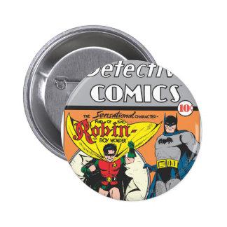 Detective Comics #38 6 Cm Round Badge