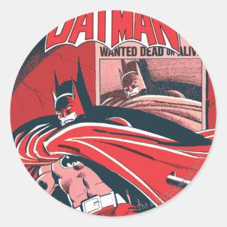 Detective Comics 546 Round Sticker