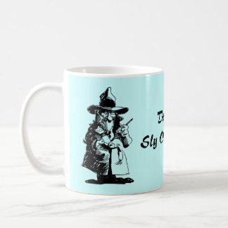 Detective Sly Ol Gumshoe Murder Mystery Sleuth Basic White Mug
