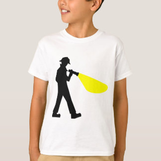 Detective with Flashlight T-Shirt
