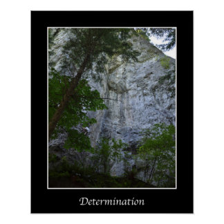 Determination Inspiration Wall Poster