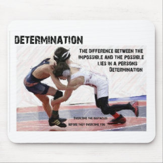 Determination Mouse Pad
