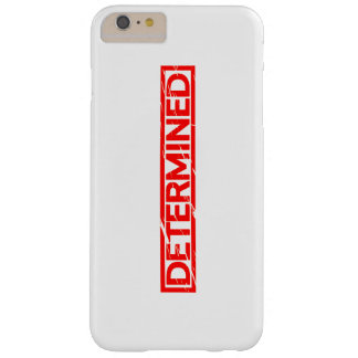 Determined Stamp Barely There iPhone 6 Plus Case