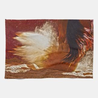 Detonation Kitchen Towel Western Horse