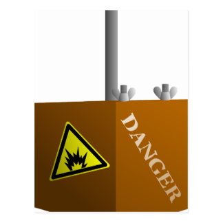Detonator Box Postcard