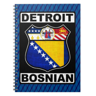 Detroit Bosnian American Notepad Notebook