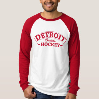 Detroit Builds Hockey long sleeve T-Shirt
