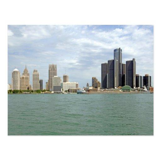 Detroit City Michigan Post Cards
