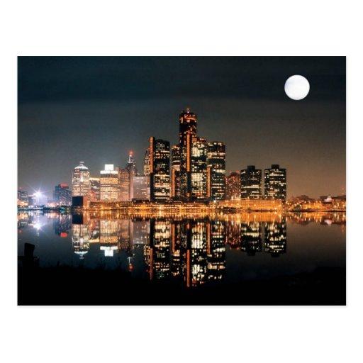 Detroit City Post Card