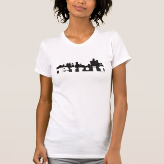 Detroit Cityscape T-Shirt