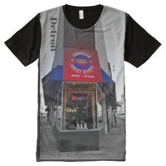 Detroit - Coney Island All-Over Print T-Shirt