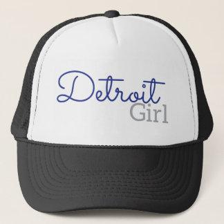 Detroit Girl Trucker Hat