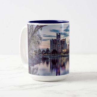 Detroit Harbor Sunset Mug