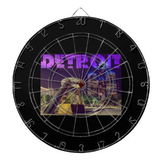 Detroit Hart Plaza Dartboard