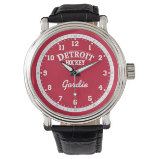Detroit Hockey 12 Hour Watch