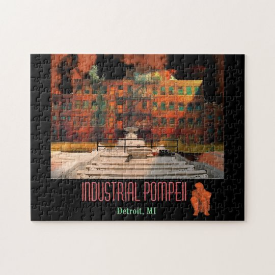 Detroit - Industrial Pompeii Jigsaw Puzzle