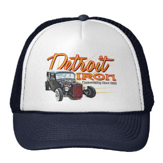 Detroit Iron Mesh Hat