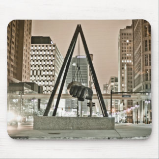 Detroit Joe Louis Fist Mouse Pad