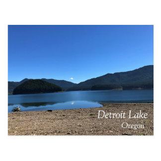 Detroit Lake Postcard