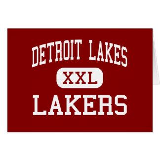 Detroit Lakes - Lakers - High - Detroit Lakes Greeting Card