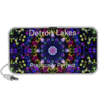 Detroit Lakes - Practically Perfect #3 Notebook Speakers