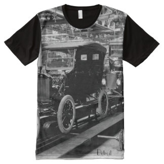 Detroit Manufacturing All-Over Print T-Shirt