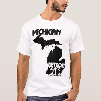 Detroit,Michigan 313 T-Shirt