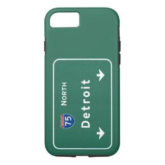 Detroit Michigan mi Interstate Highway Freeway : iPhone 8/7 Case