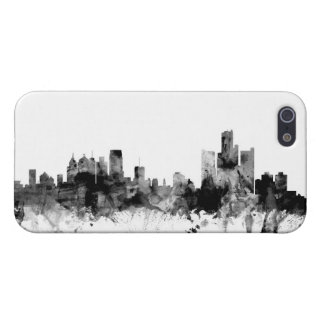 Detroit Michigan Skyline Case For The iPhone 5