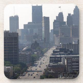 Detroit Michingan Skyline Coaster