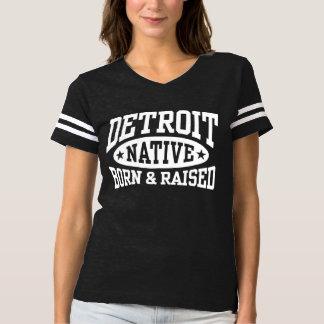 Detroit Native Born and Raised T-Shirt