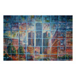 Detroit on My Mind I - Canvas Print Posters