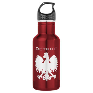 Detroit Polska Water Bottle