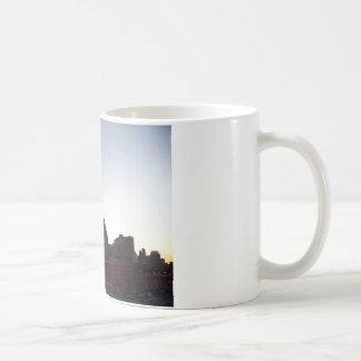 Detroit Skyline at Dusk Mug