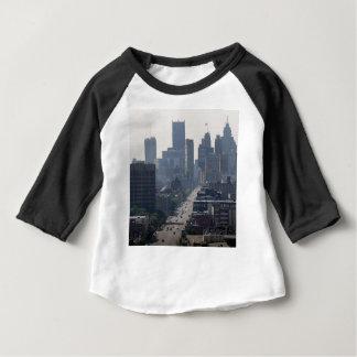 Detroit Skyline Baby T-Shirt
