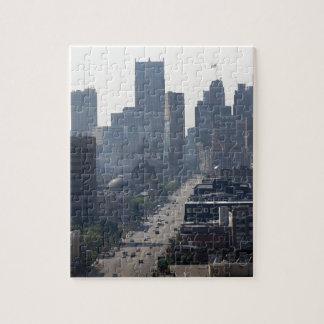 Detroit Skyline Jigsaw Puzzle