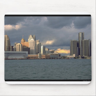 Detroit Skyline Mouse Pad
